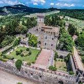 замок для свадьбы в италии, места для свадьбы в тоскане