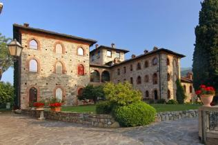 свадьба на озере комо, замок в италии