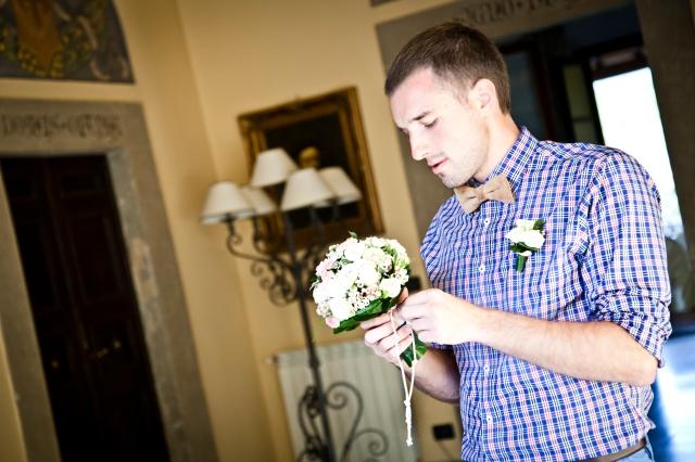 Свадьба в Тоскане. Сборы жениха / Wedding in Tuscany. Groom's getting ready