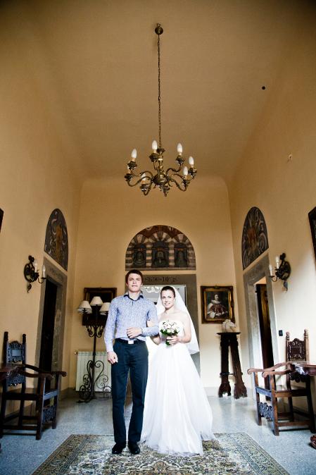 Свадьба в Тоскане на вилле