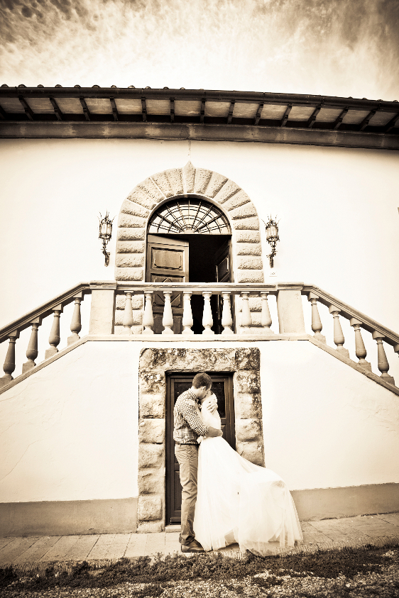 Wedding in Tuscany in private villa close to Florence