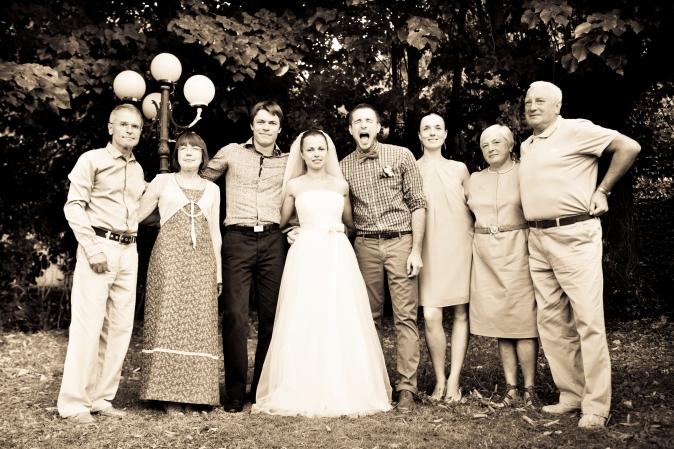 Wedding in Tuscany. Family picture ideas