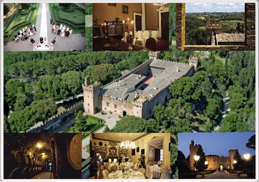 свадьба в замке в италии, организация свадьбы в италии