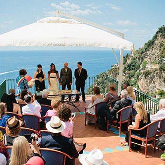 организация свадьба в италии, свадьба в позитано