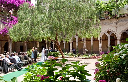 организация свадьбы в италии, свадьба в сорренто