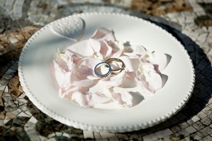 Getting married in Italy. Wedding rings