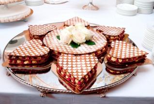 Свадебный торт Миллефолье