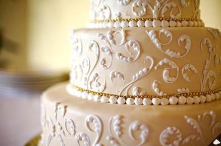 Декорации свадебного торта