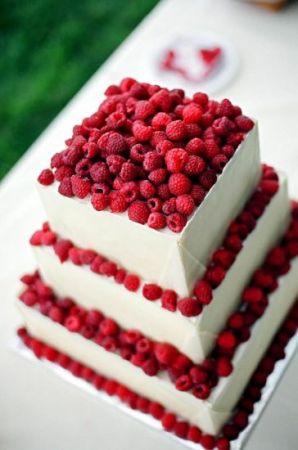 Фруктовый свадебный торт
