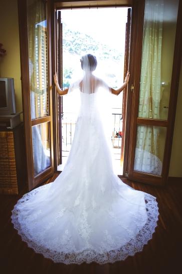Свадьба на Сицилии. Платье невесты / Wedding in Sicily. Wedding dress