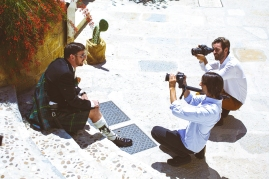 Свадьба на Сицилии. Сборы жениха / Wedding in Sicily. Groom's getting ready