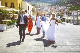 Свадьба на Сицилии. Официальная церемония на побережье / Wedding in Sicily. Official wedding on the coast
