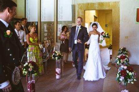 Свадьба на Сицилии. Официальная церемония в замке / Wedding in Sicily. Civil wedding in the castle