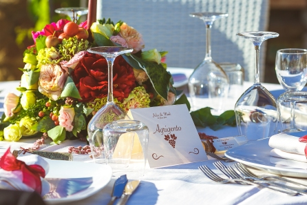 Свадьба на Сицилии. Украшение столов / Wedding in Sicily. Tables decor ideas