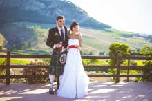 Свадьба на Сицилии. Свадебный ужин в ресторане / Wedding in Sicily. Restaurant for the wedding reception