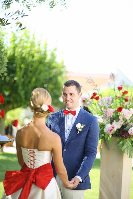 Свадьба в Апулии. Красный цвет на свадьбу. / Wedding in Puglia. Red color for the wedding decor