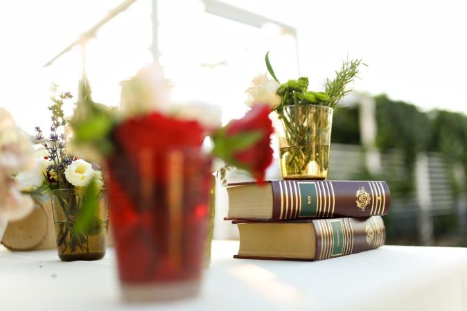 Свадьба в Апулии. Идеи декора с книгами / Wedding in Puglia. Decor ideas with books