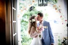 Символическая церемония в Италии. Свадьба на озере Комо