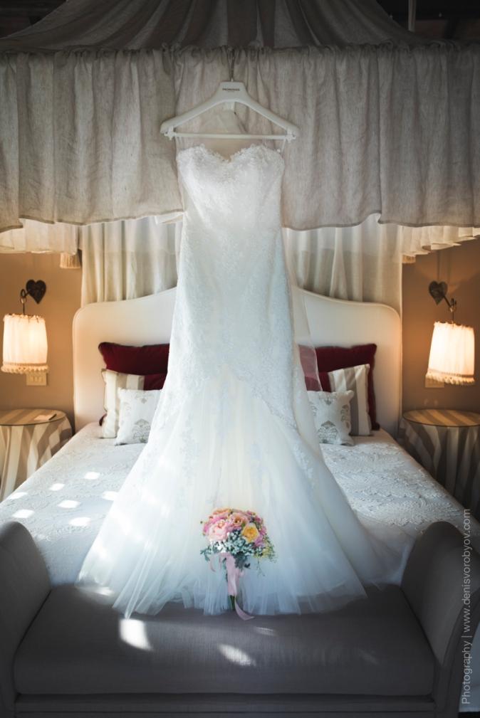 Свадьба в Тоскане. Свадебное платье Pronovias / Wedding in Tuscany. Wedding dress by Pronovias