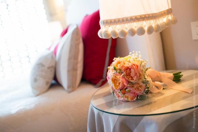Свадьба в Италии - свадебный букет