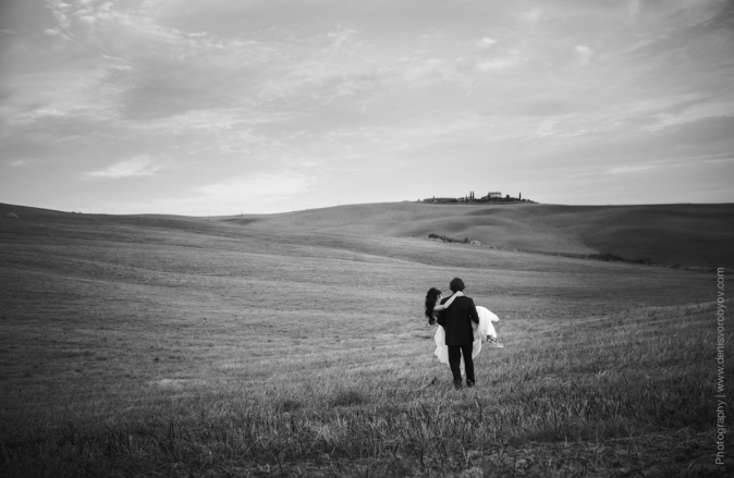 Свадьба в Италии - фотосессия в Тоскане