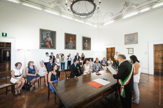 Свадьба в Тоскане. Официальная церемония в Италии / Wedding in Tuscany. Civil ceremony in Montepulciano