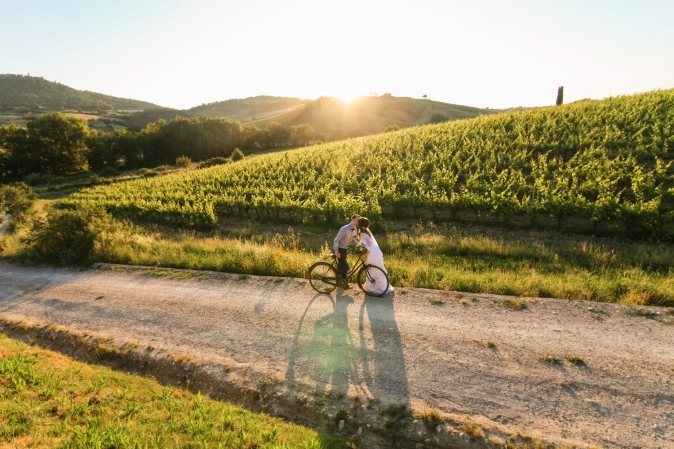 Wedding in Tuscany - wedding photoshooting
