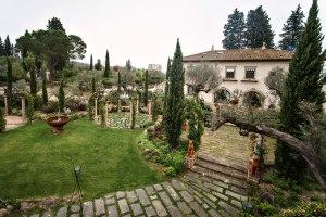 Wedding in Tuscany. Villa Corbinaia
