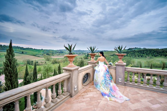 Wedding in Tuscany at Tenuta Corbinaia
