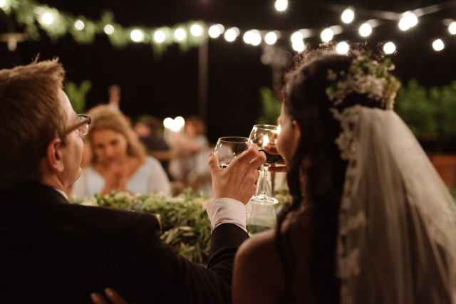 Свадьба в Тоскане. Свадебный ужин. / Wedding in Tuscany. Wedding reception