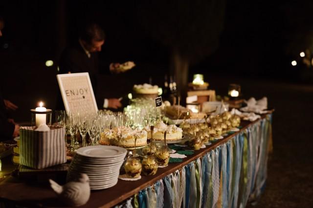Свадьба в Тоскане. Сладкий стол. / Wedding in Tuscany. Sweet table