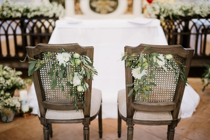 Свадьба в Тоскане. Декорации для церемонии. / Wedding in Tuscany. Ceremony flower decor ideas