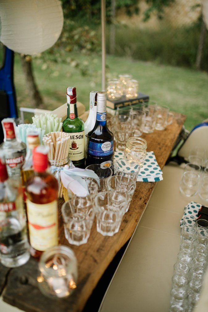 Wedding in Tuscany. Travelling bar ideas