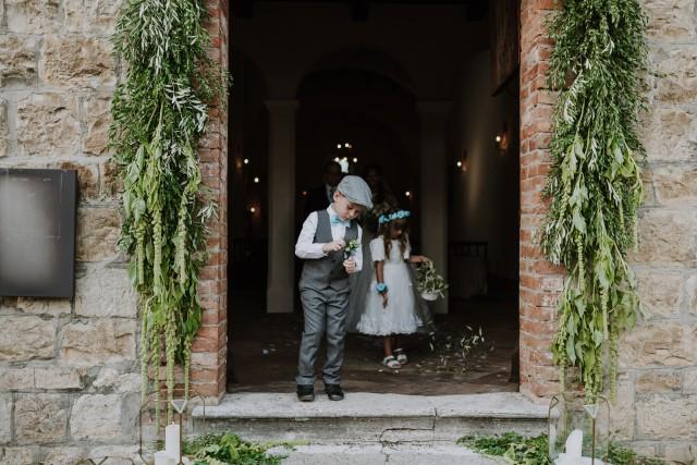 Католическая церемония в Италии / Catholic wedding in Italy
