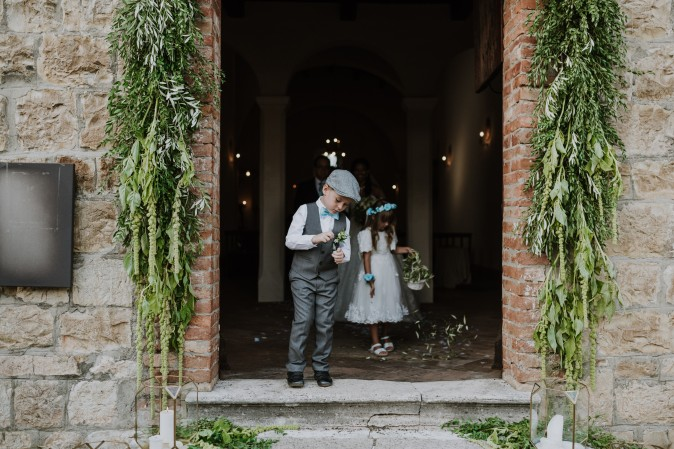 Католическая церемония в Италии / Catholic wedding in Italy