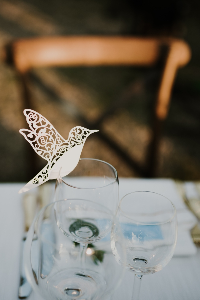 Wedding in Tuscany. Place cards ideas