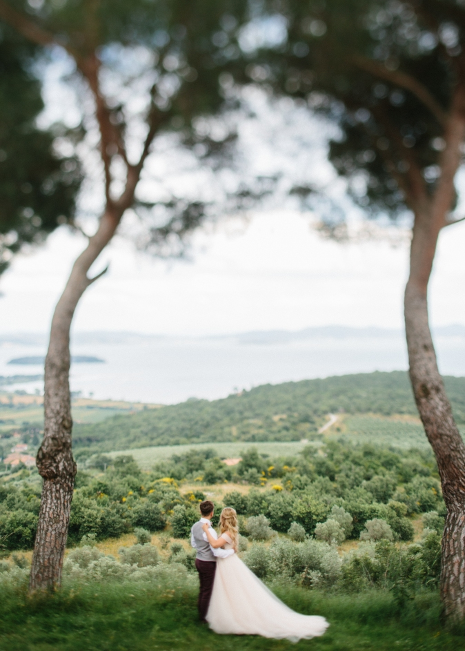 Wedding in Umbria Lake Wedding in Italy