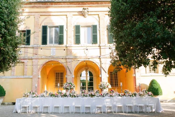 wedding at villa la foce tuscany