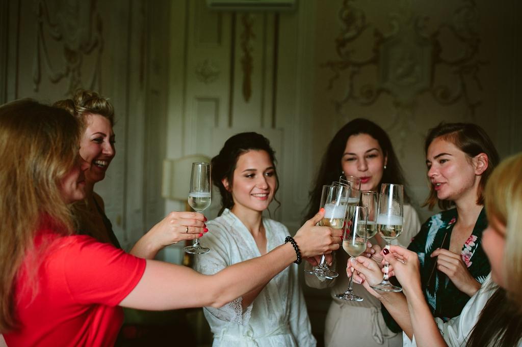 свадьба в италии утро невесты