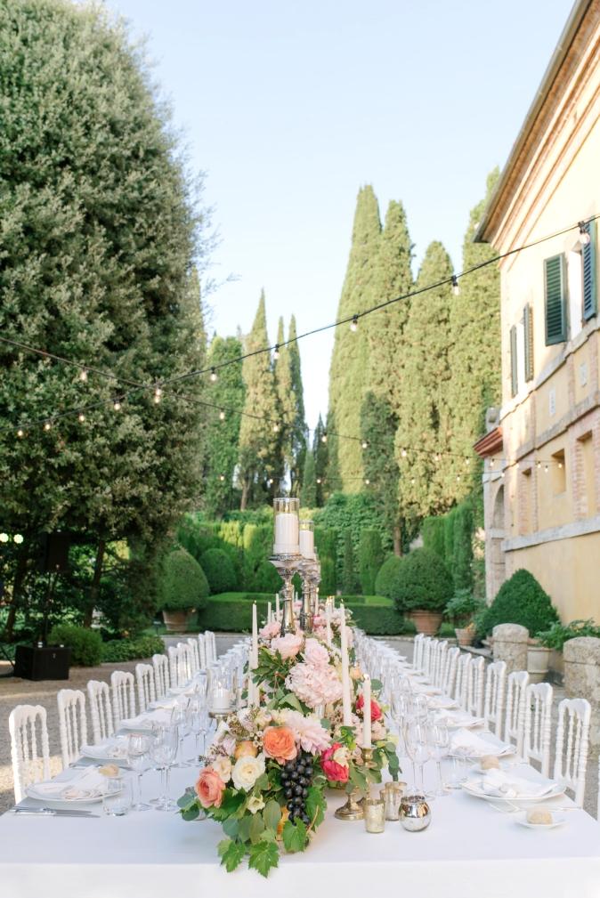 wedding table decor ideas wedding at villa