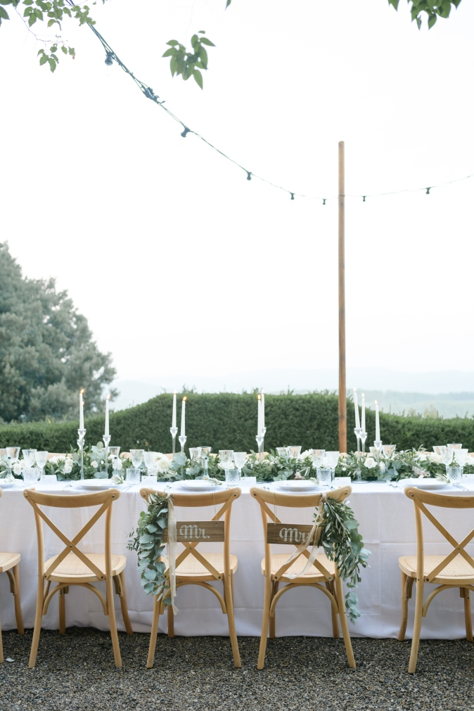 wedding dinner table ideas