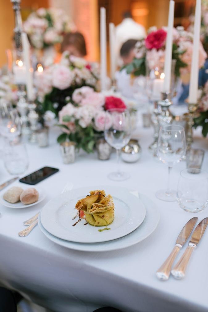 wedding at villa tuscany catering