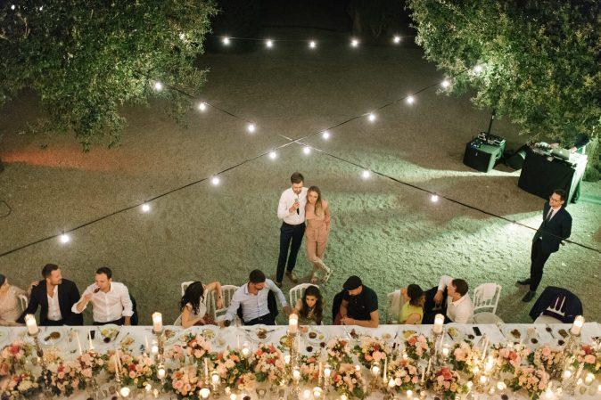 идеи украшения свадебного стола