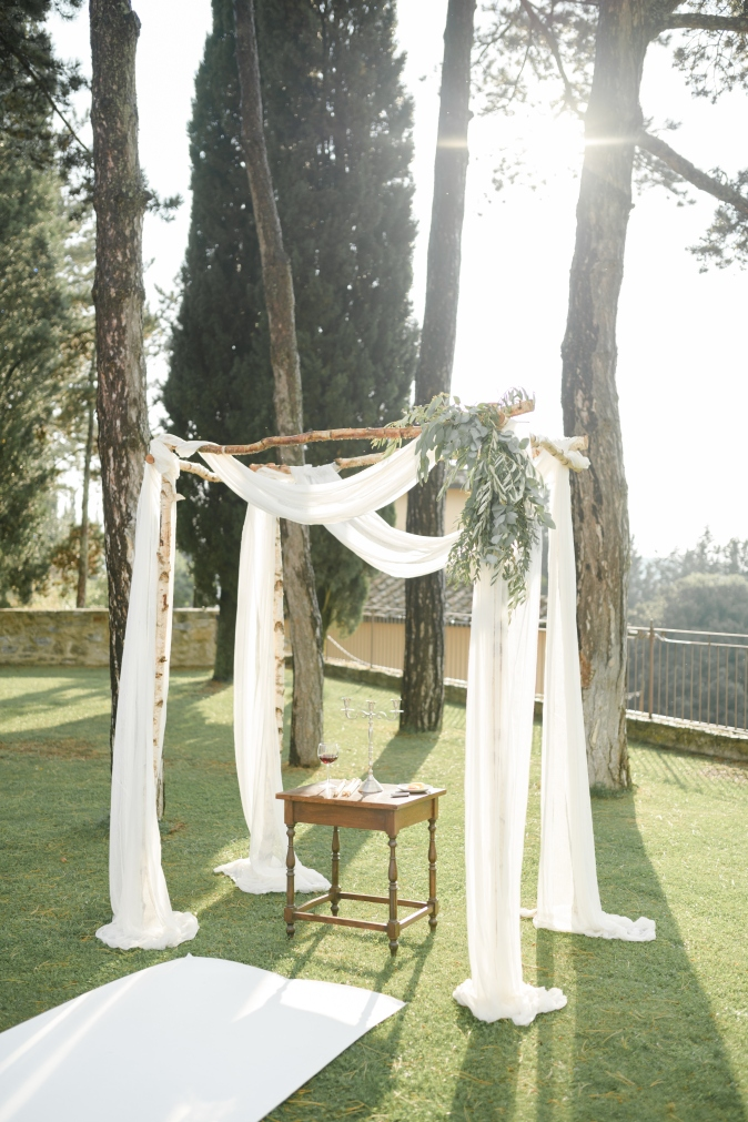 wedding chuppah decor