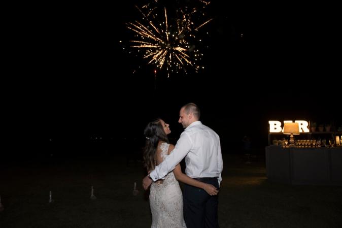 Wedding fireworks ideas