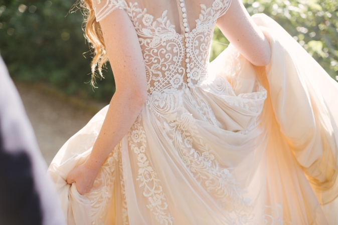 Wedding in Florence Wedding dress embroidery